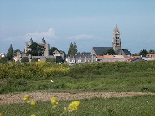 Noirmoutier-en-l'Ile (Vendée) Vue générale en 2014