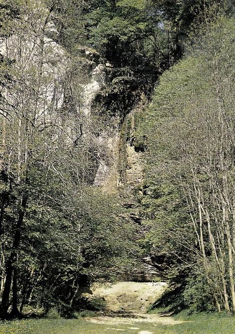 Nolay (Côte d'Or) La cascade CPA
