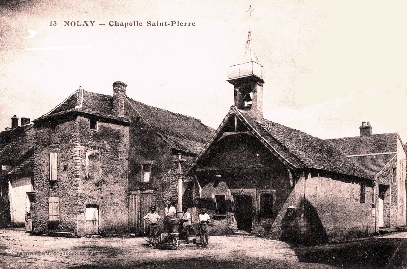 Nolay (Côte d'Or) La chapelle Saint-Pierre CPA