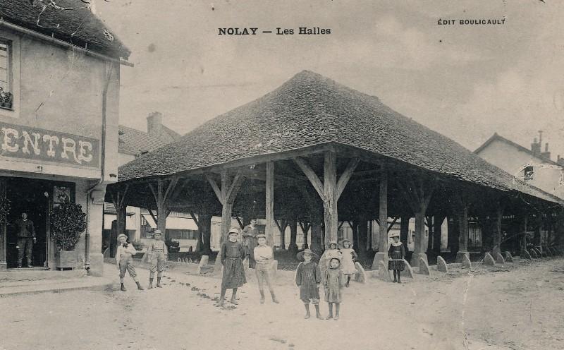 Nolay (Côte d'Or) La Halle CPA