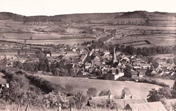 Nolay (Côte d'Or) Vue générale CPA