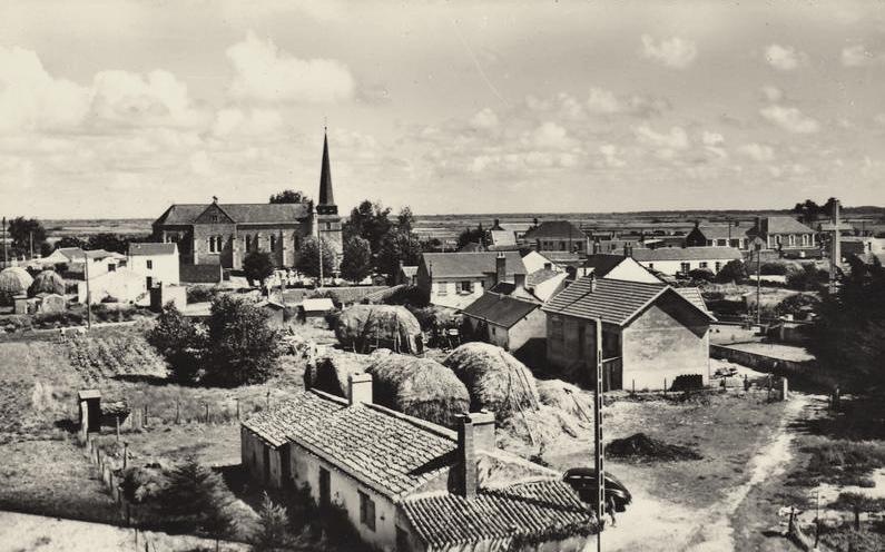 Notre-Dame-de-Monts (Vendée) Vue générale CPA