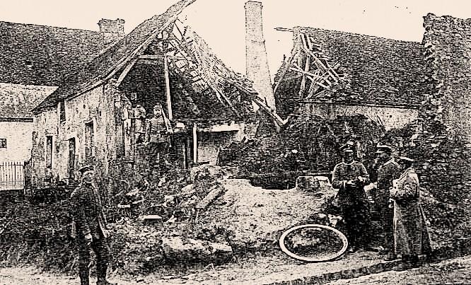 Pargnan (Aisne) CPA 1914-1918
