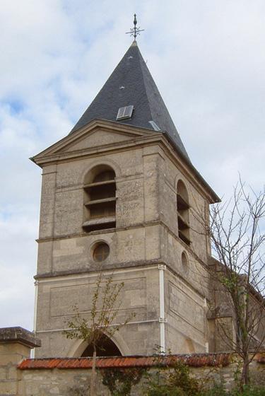 Pargnan (Aisne) CPA église Saint-Rémi