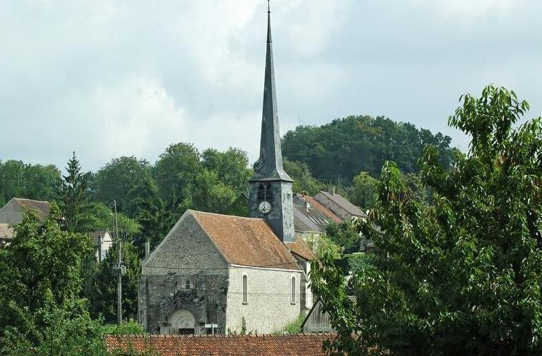 Pargny-la-Dhuys (Aisne) l'église Saint Martin