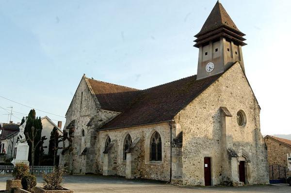 Passy-sur-Marne (Aisne) église Saint-Eloi
