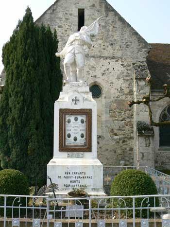Passy-sur-Marne (Aisne) monuments aux morts