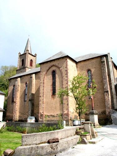Peux-et-Couffouleux (Aveyron) Couffouleux, église Saint-Nazaire
