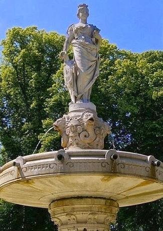 Poppa de Bayeux, fontaine de Bayeux