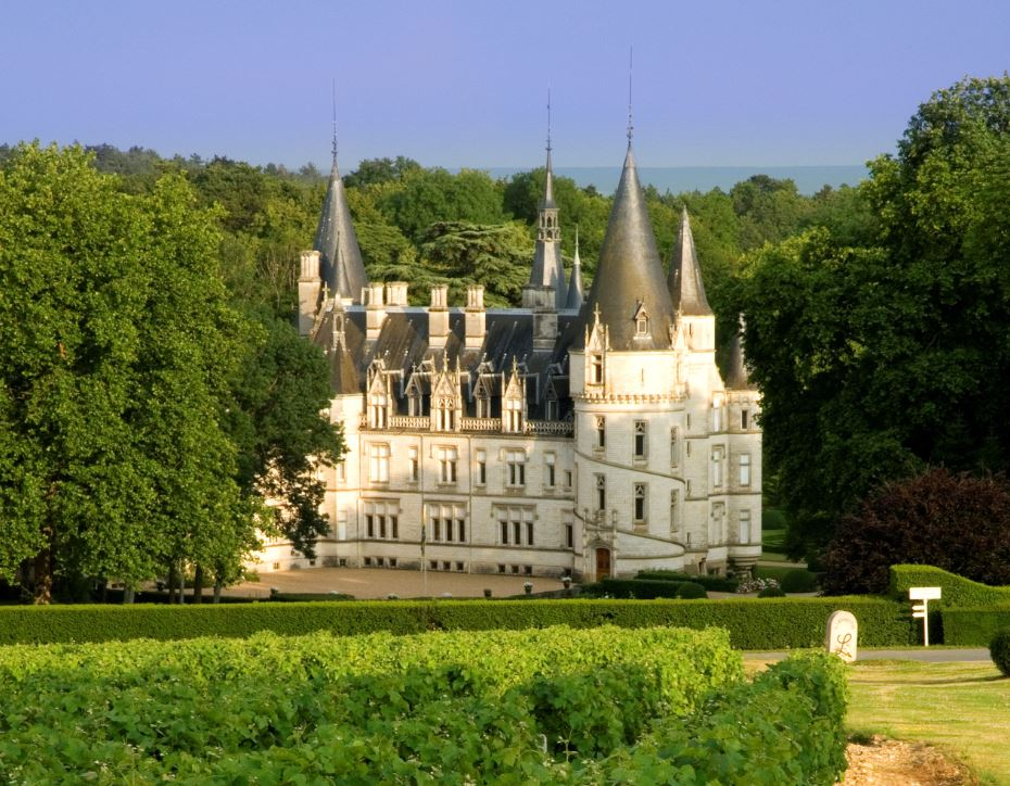 Pouilly-sur-Loire (Nièvre) Le château Nozet