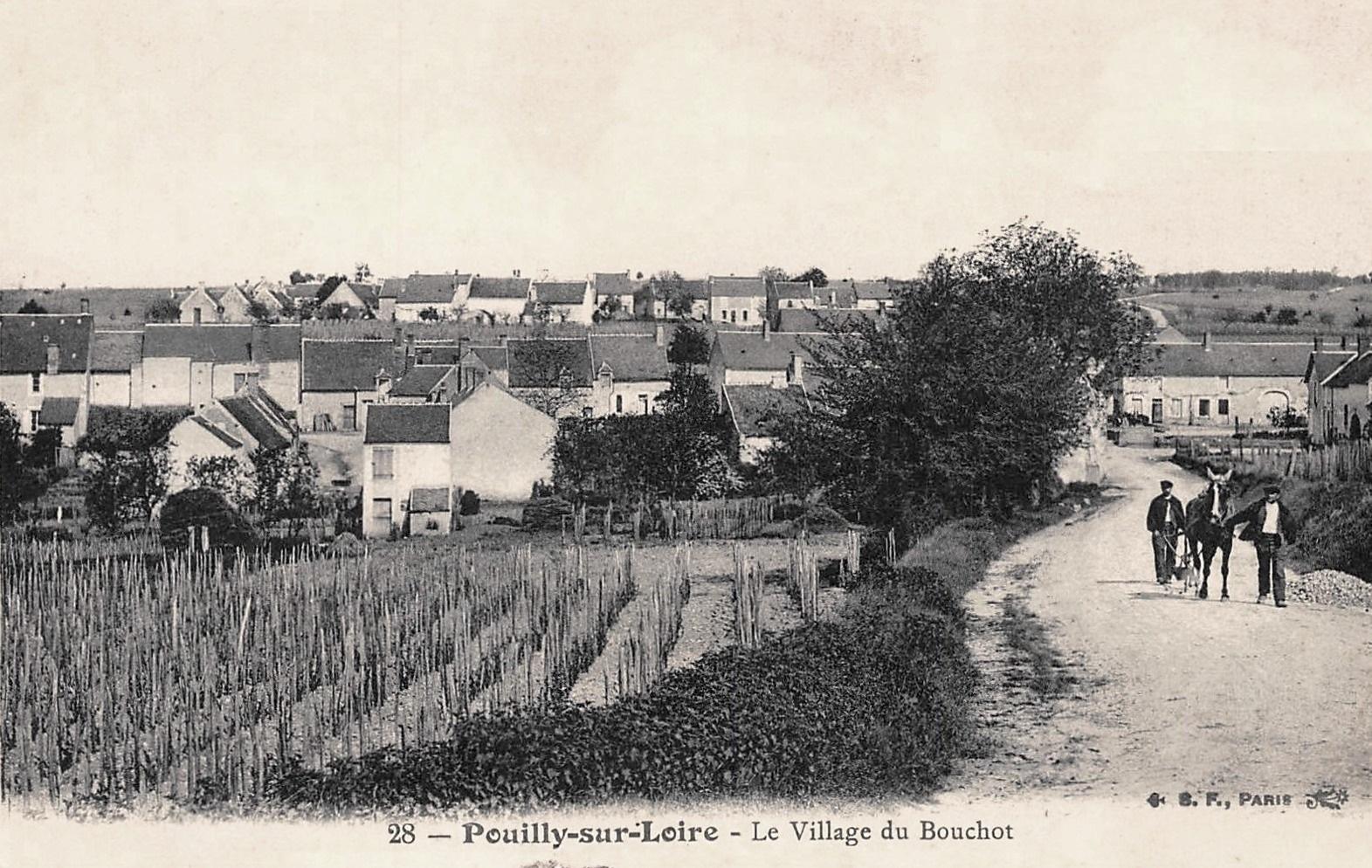 Pouilly-sur-Loire (Nièvre) Le hameau du Bouchot CPA