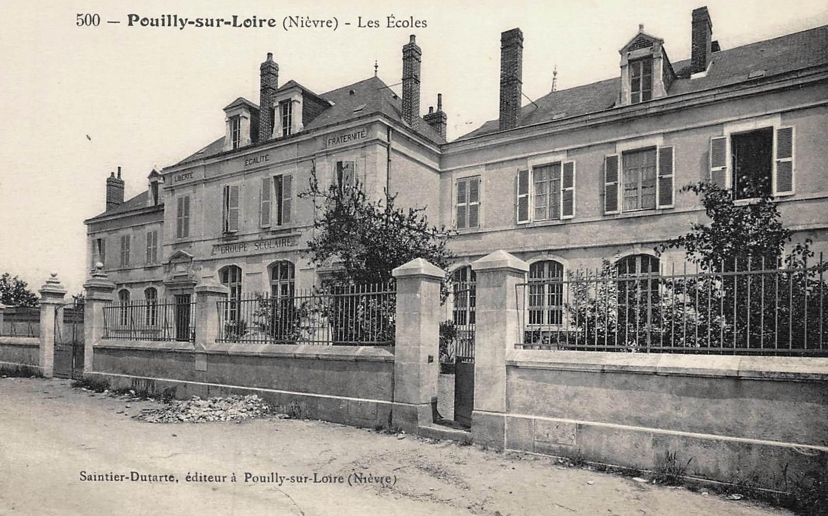 Pouilly-sur-Loire (Nièvre) Les écoles CPA