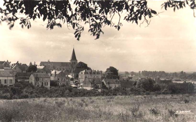 Pouilly-sur-Loire (Nièvre) Vue générale CPA