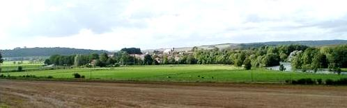 Pouilly-sur-Meuse (Meuse) Panoramique