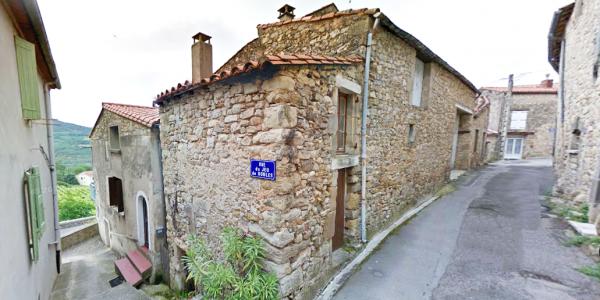 Poujols (Hérault) La grande rue