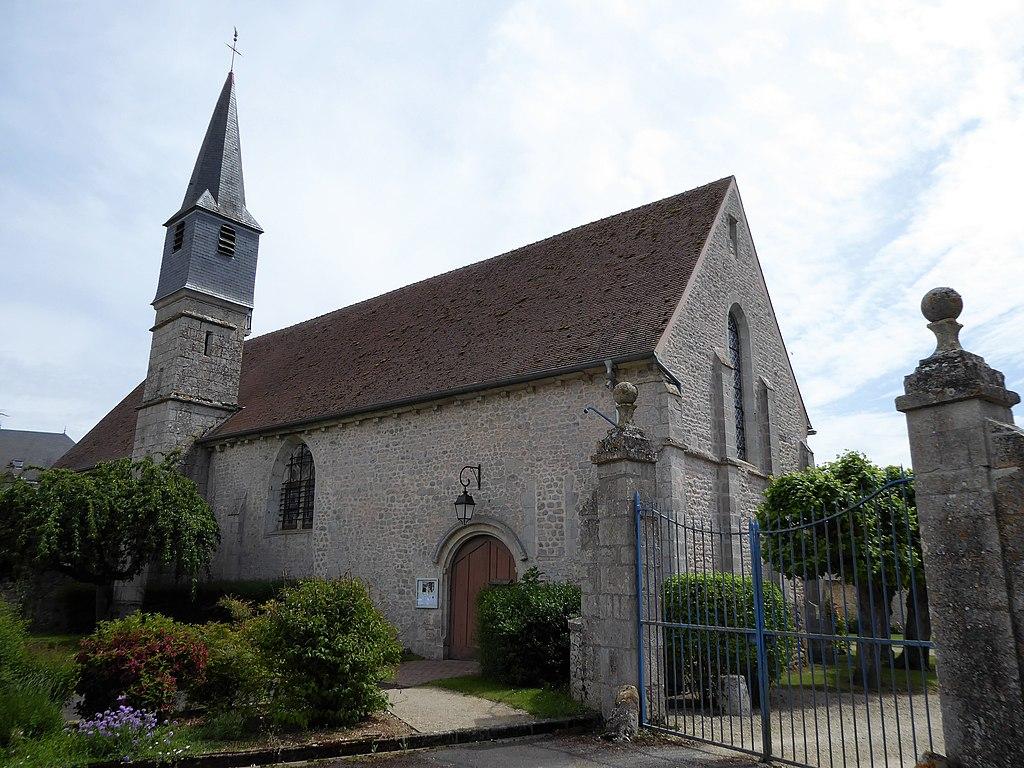 Prasville (28) L'église Saint Lubin