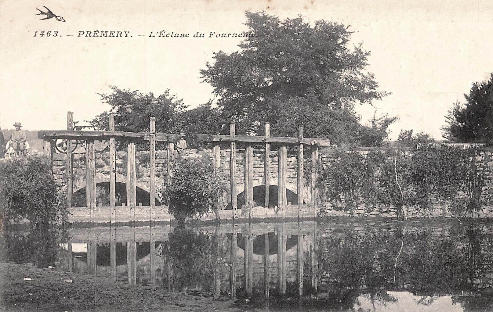 Prémery (Nièvre) L'écluse du Fourneau CPA