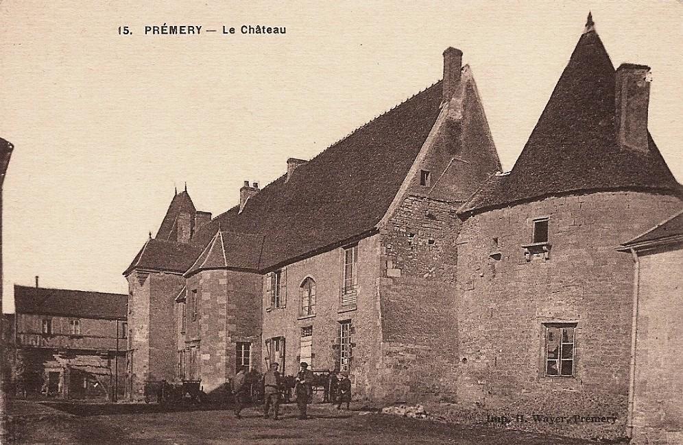 Prémery (Nièvre) Le château CPA