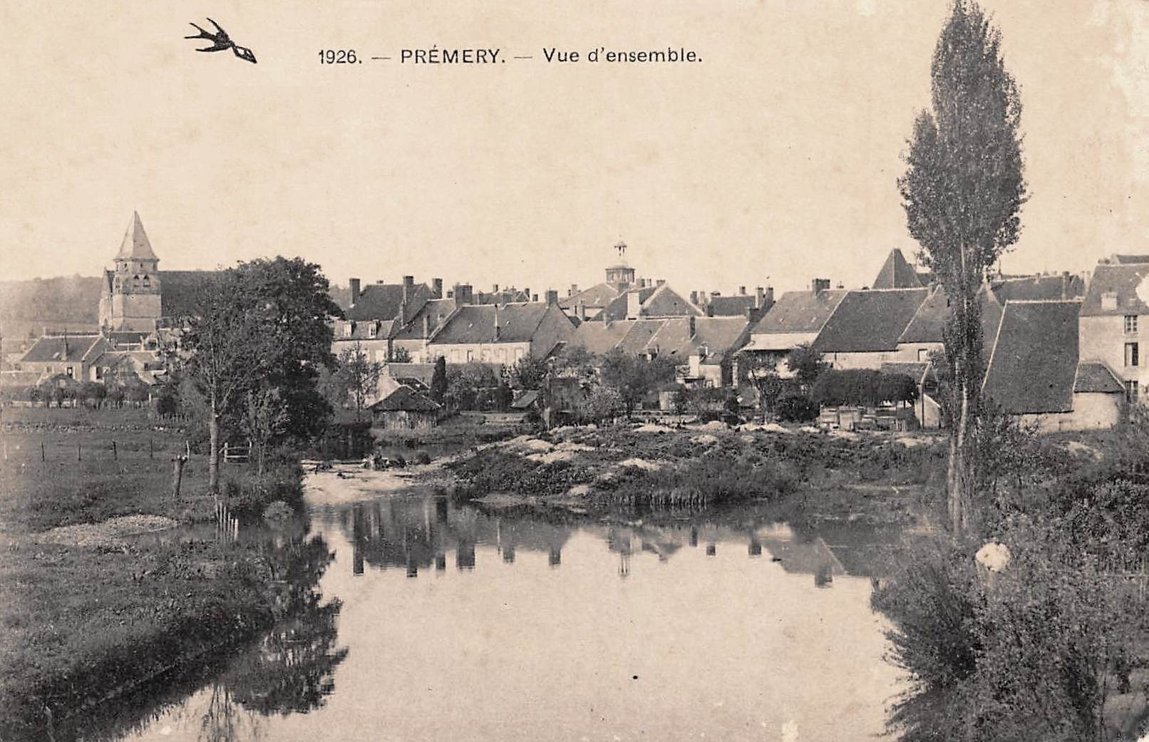 Prémery (Nièvre) Vue générale CPA