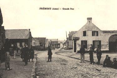 Prémont (Aisne) CPA Grande rue