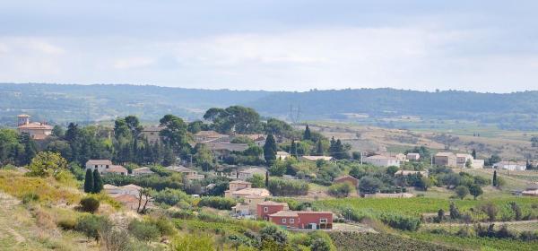 Puilacher (Hérault) Vue générale