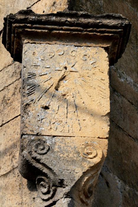 Quincy-Landzécourt (Meuse) Le cadran solaire