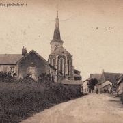 Rémilly (Nièvre) L'église CPA