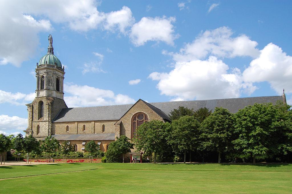 Rennes (Ille-et-Vilaine) L'église abbatiale Notre-Dame-en-Saint-Melaine