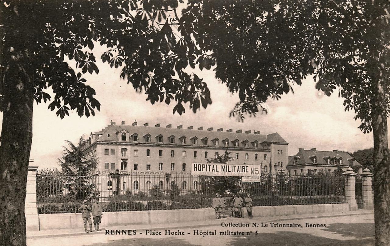 Rennes (Ille-et-Vilaine) L'Hôpital militaire CPA