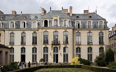 Rennes (Ille-et-Vilaine) L'Hôtel de Blossac où nait l'écrivain Paul Féval
