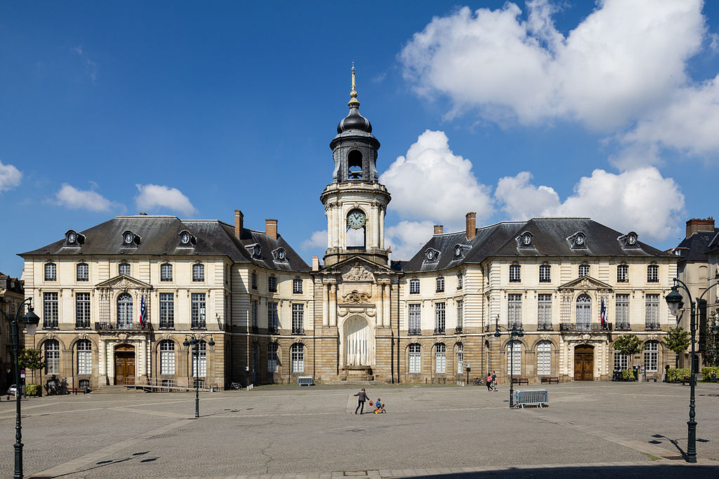 Rennes (Ille-et-Vilaine) L'Hôtel de Ville