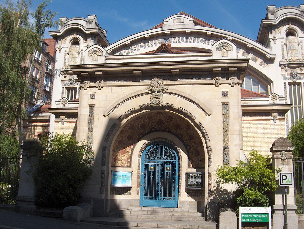 Rennes (Ille-et-Vilaine) La piscine Saint-Georges