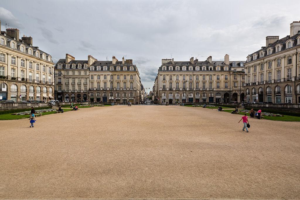 Rennes (Ille-et-Vilaine) La Place Royale ou du Parlement de Bretagne