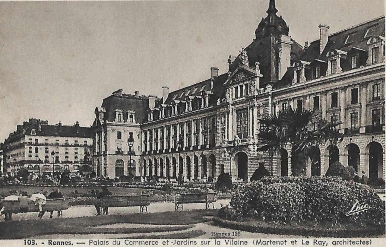 Rennes (Ille-et-Vilaine) Le Palais du Commerce CPA