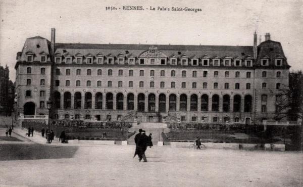Rennes (Ille-et-Vilaine) Le Palais Saint Georges