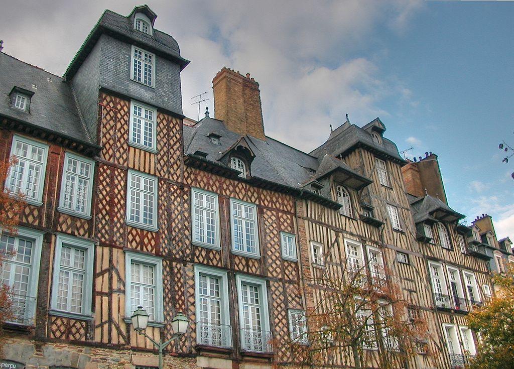 Rennes (Ille-et-Vilaine) Les hôtels particuliers du XVIIème siècle