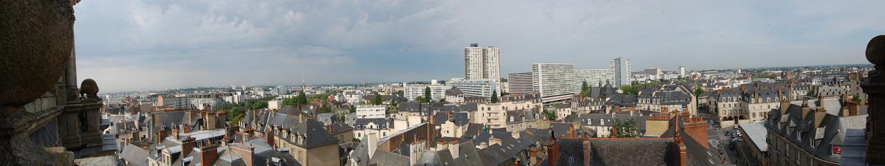 Rennes (Ille-et-Vilaine) Panoramique