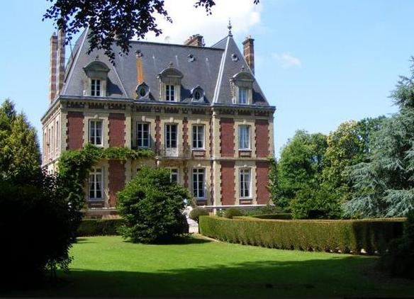 Ricarville (Seine Maritime) Château de Bourville