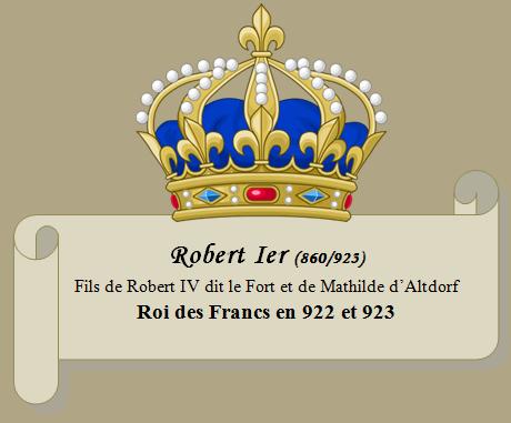 Robert Ier de France