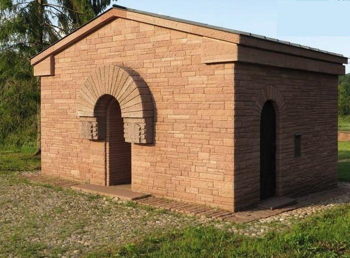 Romagne-sous-Montfaucon (Meuse) Cimetière allemand, chapelle CPA