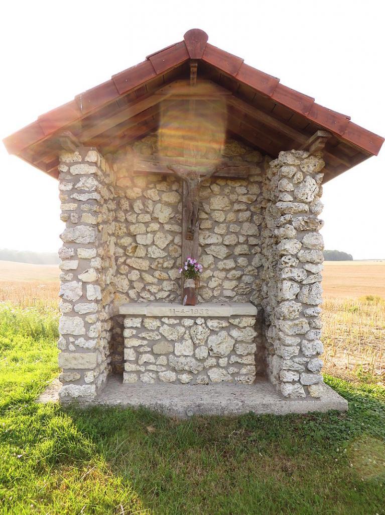 Romagne-sous-Montfaucon (Meuse) L'oratoire à Jésus