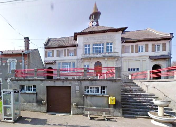 Romagne-sous-Montfaucon (Meuse) La mairie en 2011