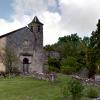 Roqueredonde (Hérault) Autignaguet, l' église Sainte Marie en 2014