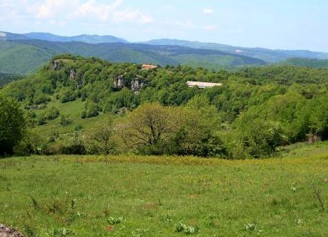 Roqueredonde (Hérault) Le plateau de l'Escandorgues