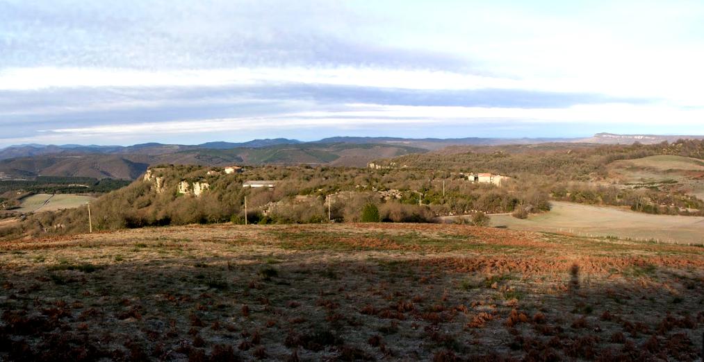 Roqueredonde (Hérault) Les Mas Fourny et Mourié en 2013