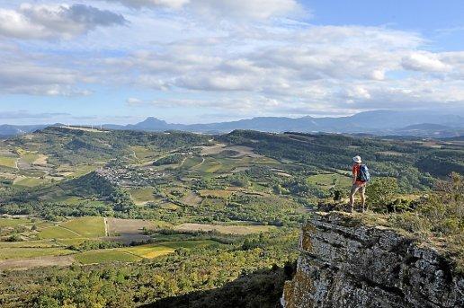 Roquetaillade (Aude) La vallée de la Corneilla