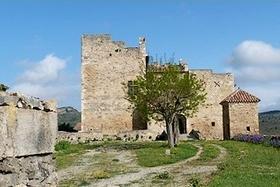 Roquetaillade (Aude) Le château