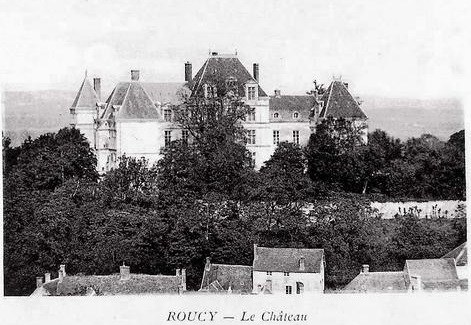 Roucy (Aisne) L'ancien château disparu CPA