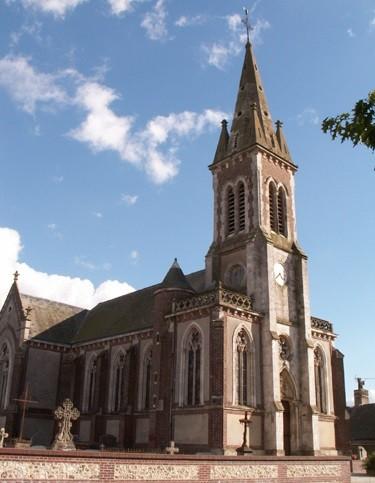 Rouville (Seine Maritime) Eglise Saint Hermès