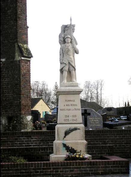 Rouville (Seine Maritime) Monument aux morts